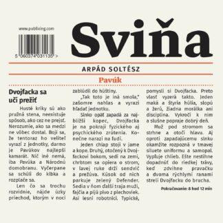 Audiokniha Sviňa - Arpád Soltész