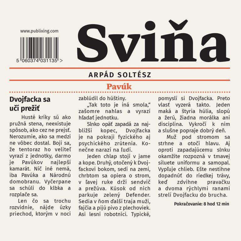 Audiokniha Svi?a - Arpád Soltész