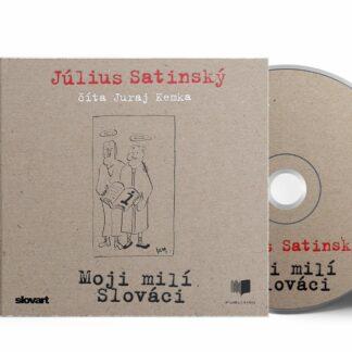 Audiokniha Moji milí Slováci - Július Satinský