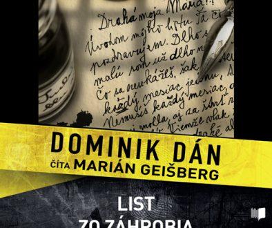 Dominik Dan - List zo zahrobia