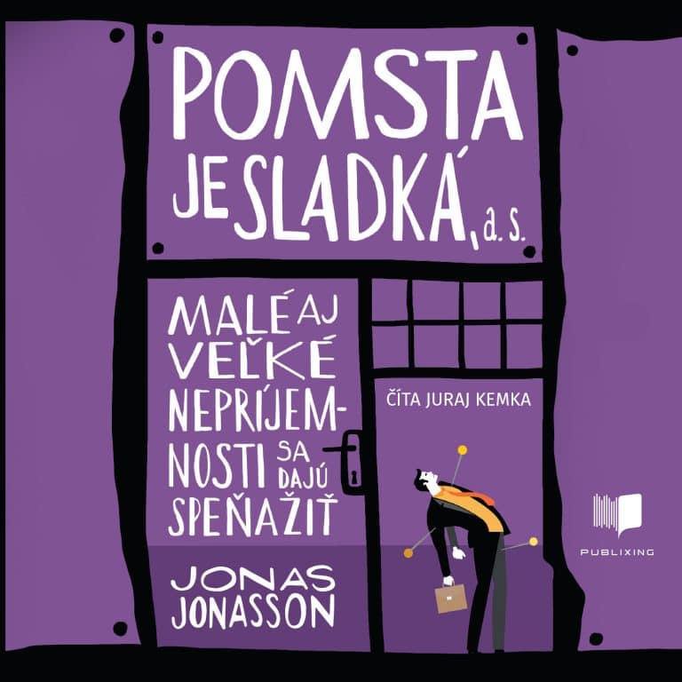Audiokniha Pomsta je sladká - Jonas Jonasson