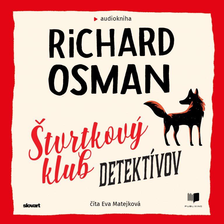 Audiokniha ?tvrtkový klub detektívov - Richar Osman